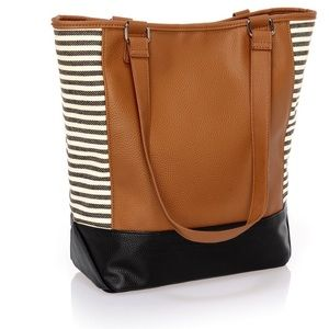 Thirty-one Carmel colorblock tote. Cute!